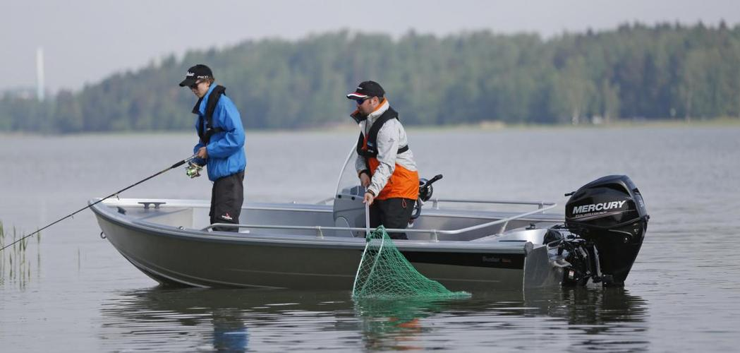 рыбалка на лодках с электромотором
